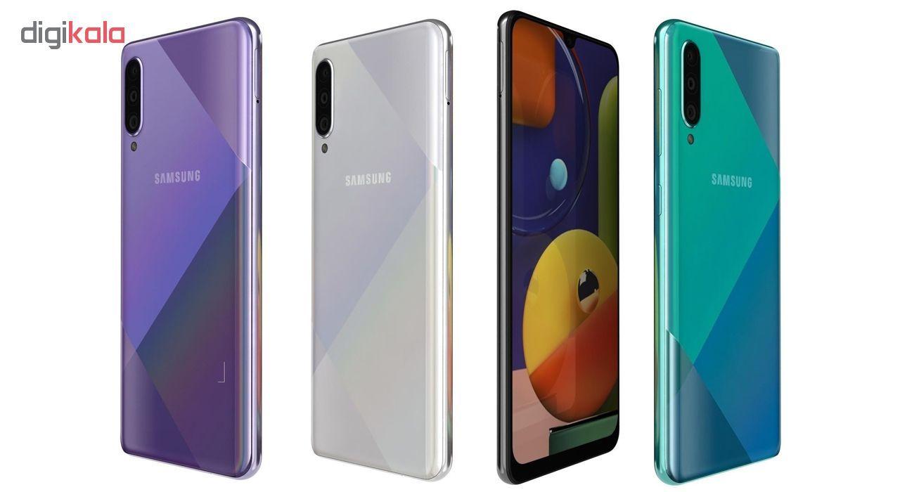 گوشی موبایل سامسونگ مدل Galaxy A50s SM-A507FN/DS دو سیم کارت ظرفیت 128گیگابایت main 1 8
