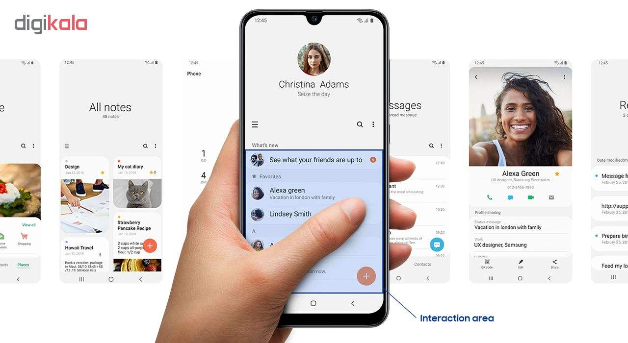 گوشی موبایل سامسونگ مدل Galaxy A50s SM-A507FN/DS دو سیم کارت ظرفیت 128گیگابایت main 1 11