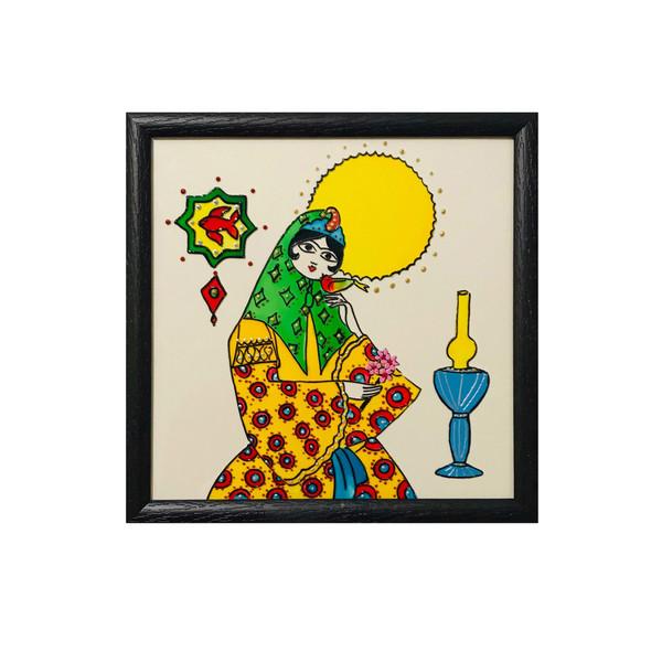 تابلو ویترای طرح سنتی خاتون