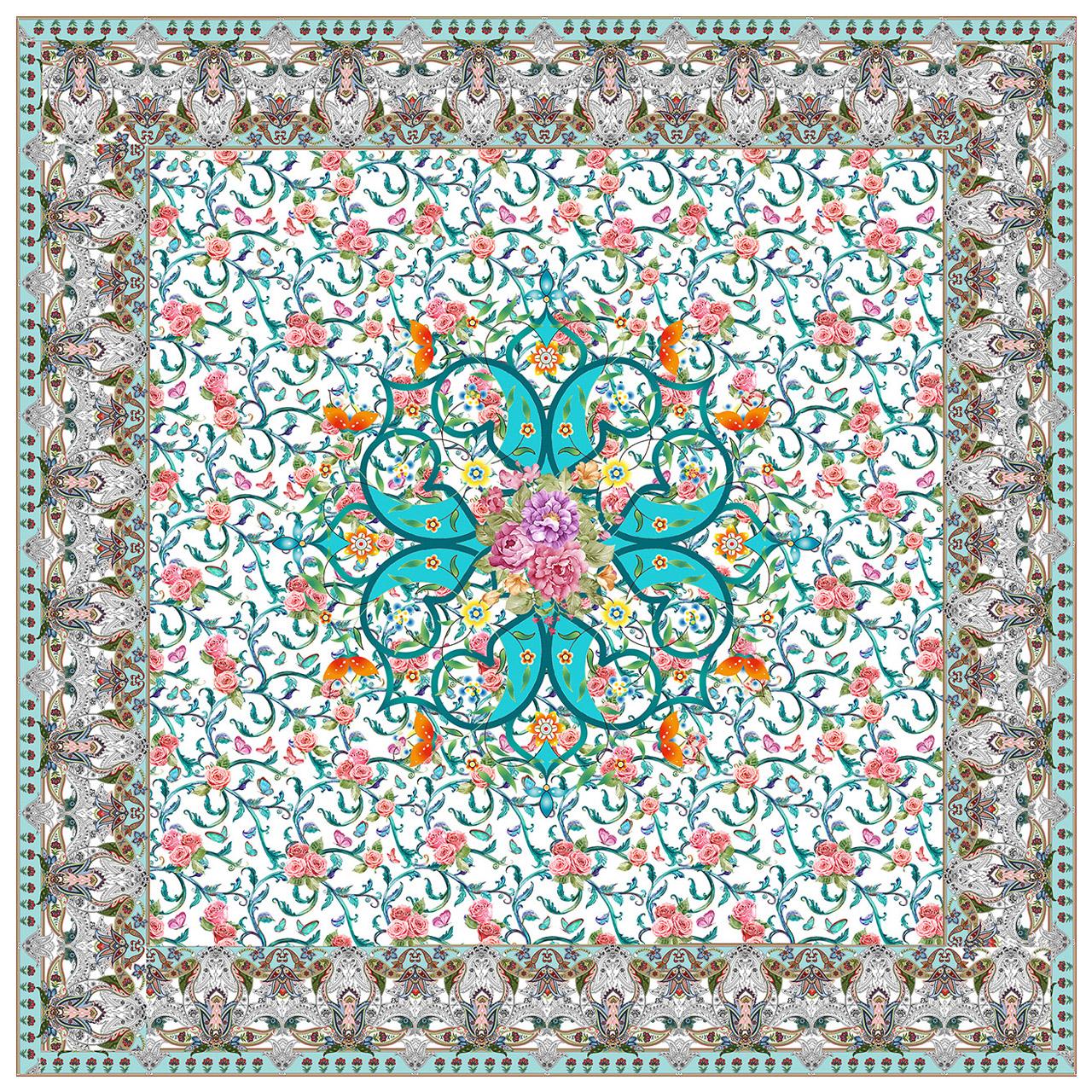 عکس رومیزی طرح گل و پروانه کد 9982