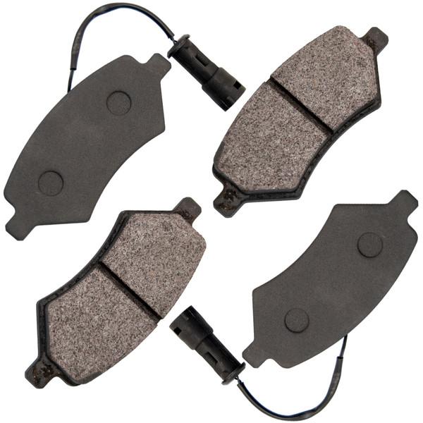 لنت ترمز جلو کویین مدل Z2135/1 مناسب برای لیفان X60