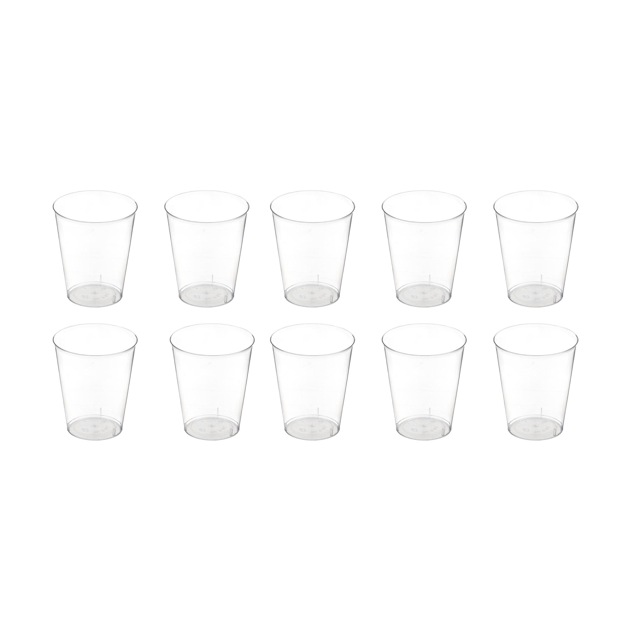 لیوان یکبار مصرف کد TLO01 بسته 10 عددی