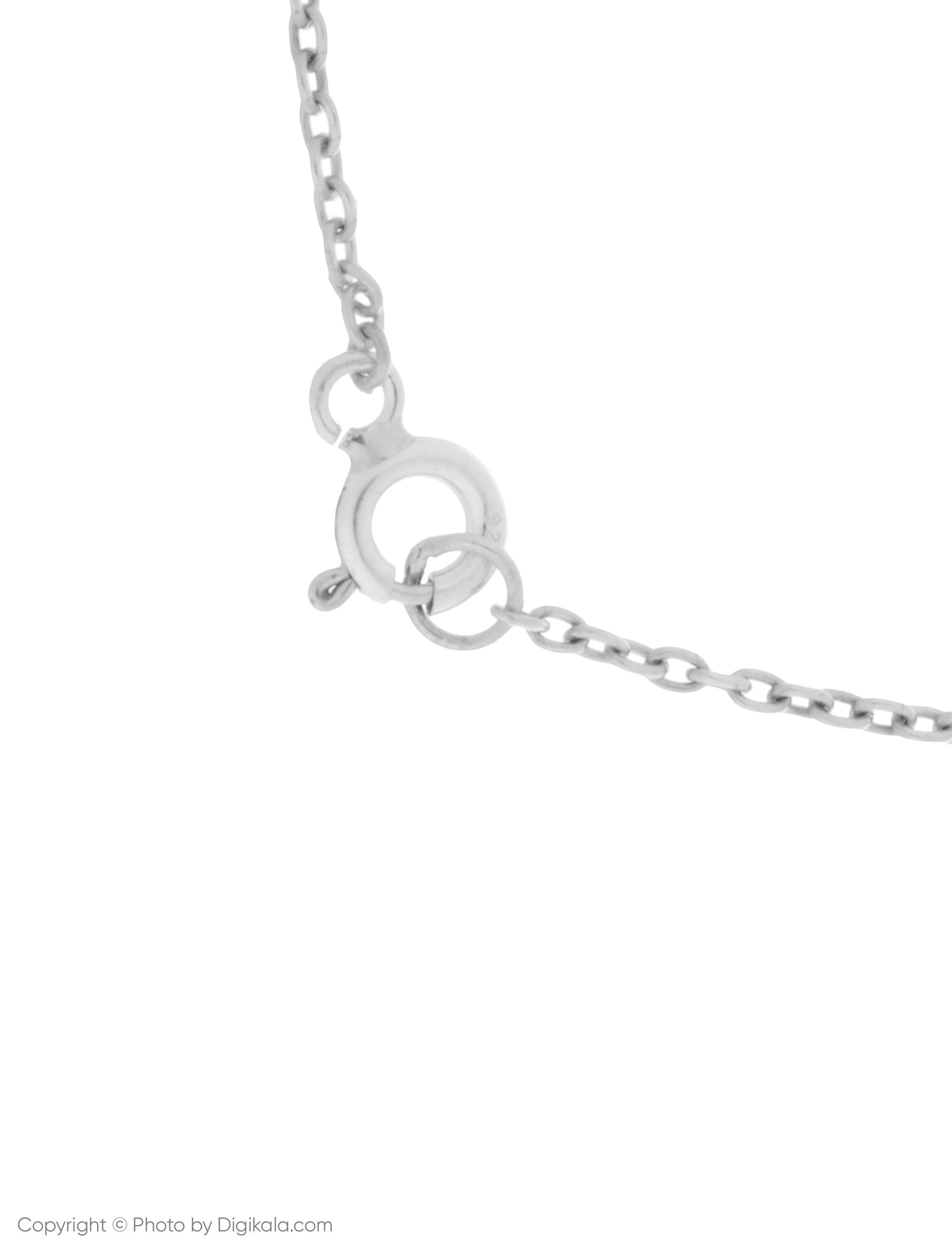 دستبند نقره زنانه نیوانی مدل DA105