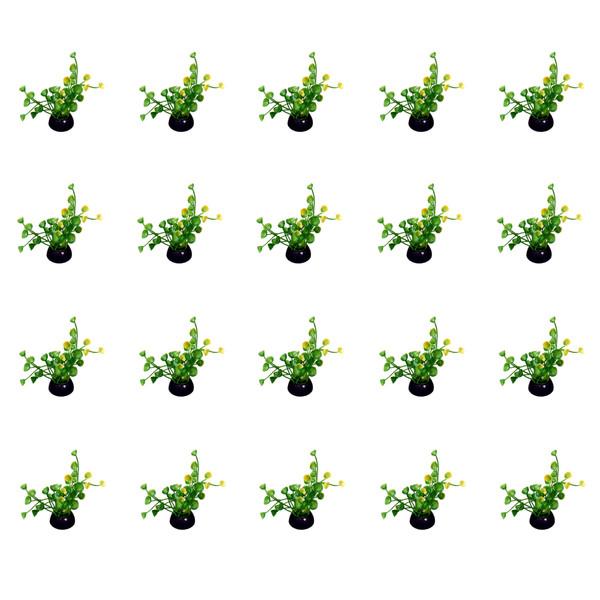 گیاه تزیینی آکواریوم کد 004 بسته 20 عددی