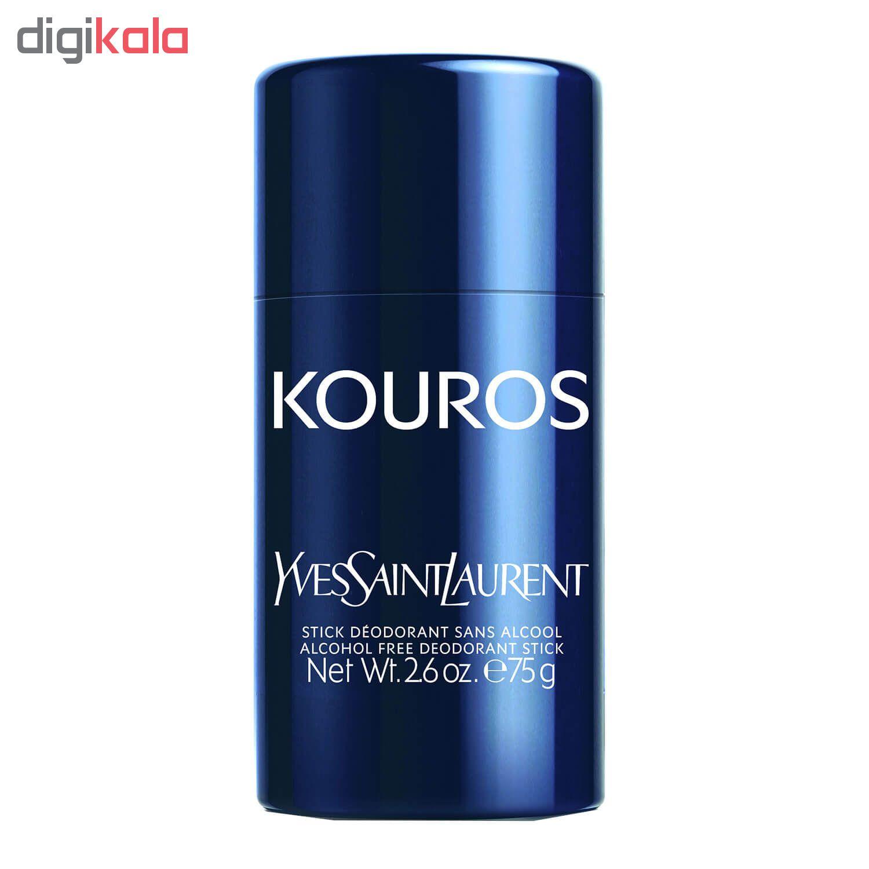 استیک ضد تعریقمردانه ایو سن لوران مدل Kouros وزن 75 گرم