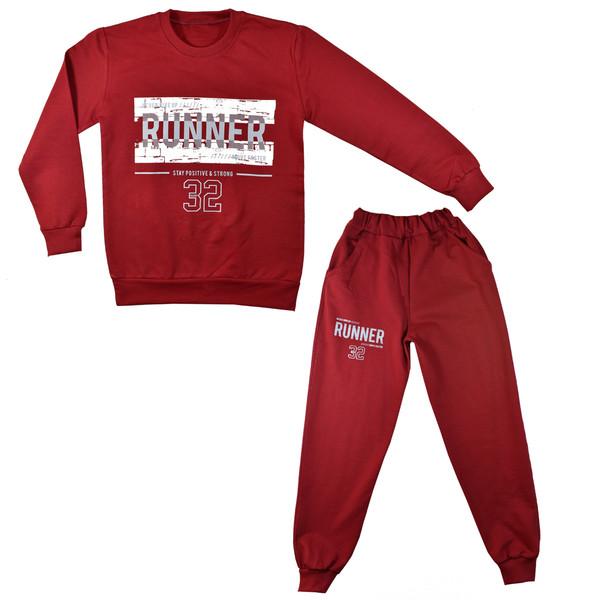 ست تی شرت و شلوار پسرانه کد X101 -1