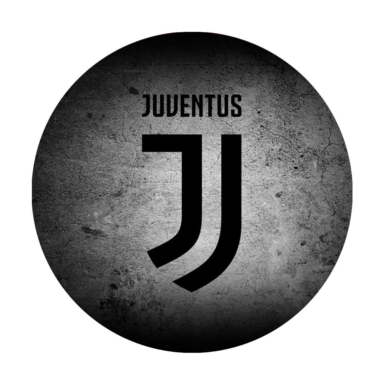 زیر لیوانی طرح Juventus F.C مدل Ms23 بسته 2 عددی