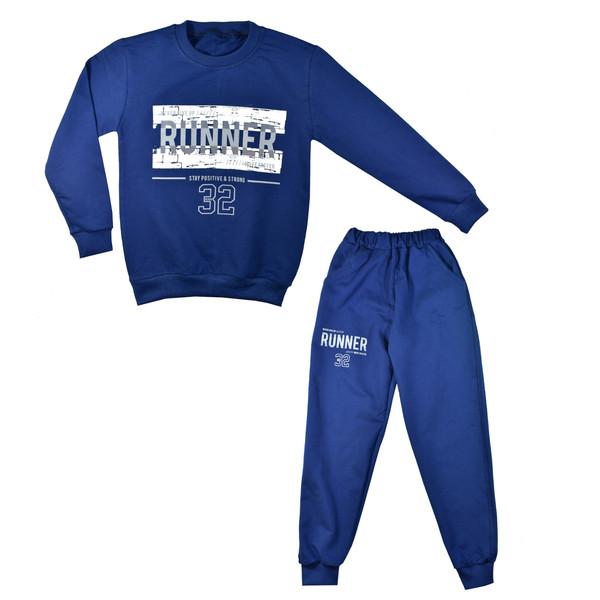 ست تی شرت و شلوار پسرانه کد X101 -4