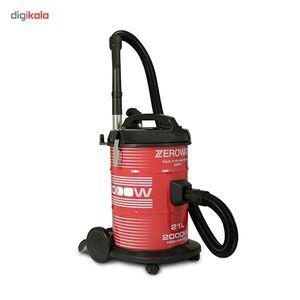 جاروبرقی زیرووات مدل KTDZ-2000135  Zerowatt KTDZ-2000135 Vacuum Cleaner