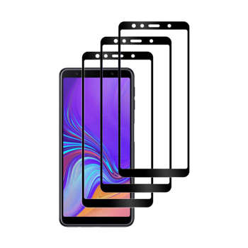 محافظ صفحه نمایش مدل RSF-3 مناسب برای گوشی موبایل سامسونگ Galaxy A750/A7 2018 بسته سه عددی