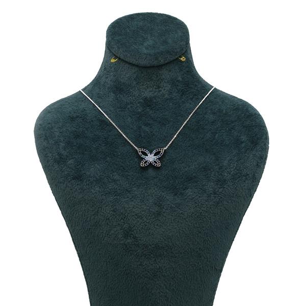 گردنبند طلا 18 عیار زنانه همای گالری مدل 3198001