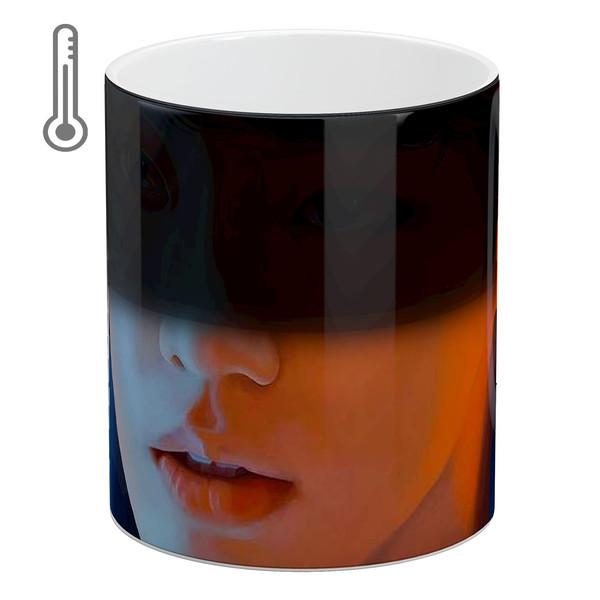 ماگ حرارتی آبنبات رنگی طرح BTS - Jungkook کد MKSA0134