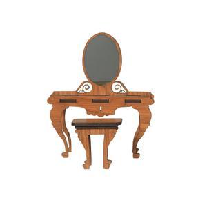 ماکت دکوری طرح میز و صندلی ارایش مدل 4k