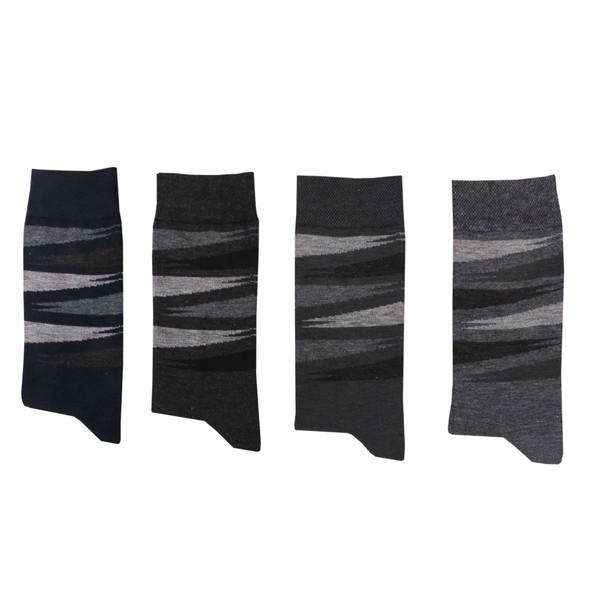 جوراب مردانه کد A09 مجموعه 4 عددی