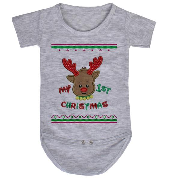 بادی نوزاد طرح کریسمس کد AR46