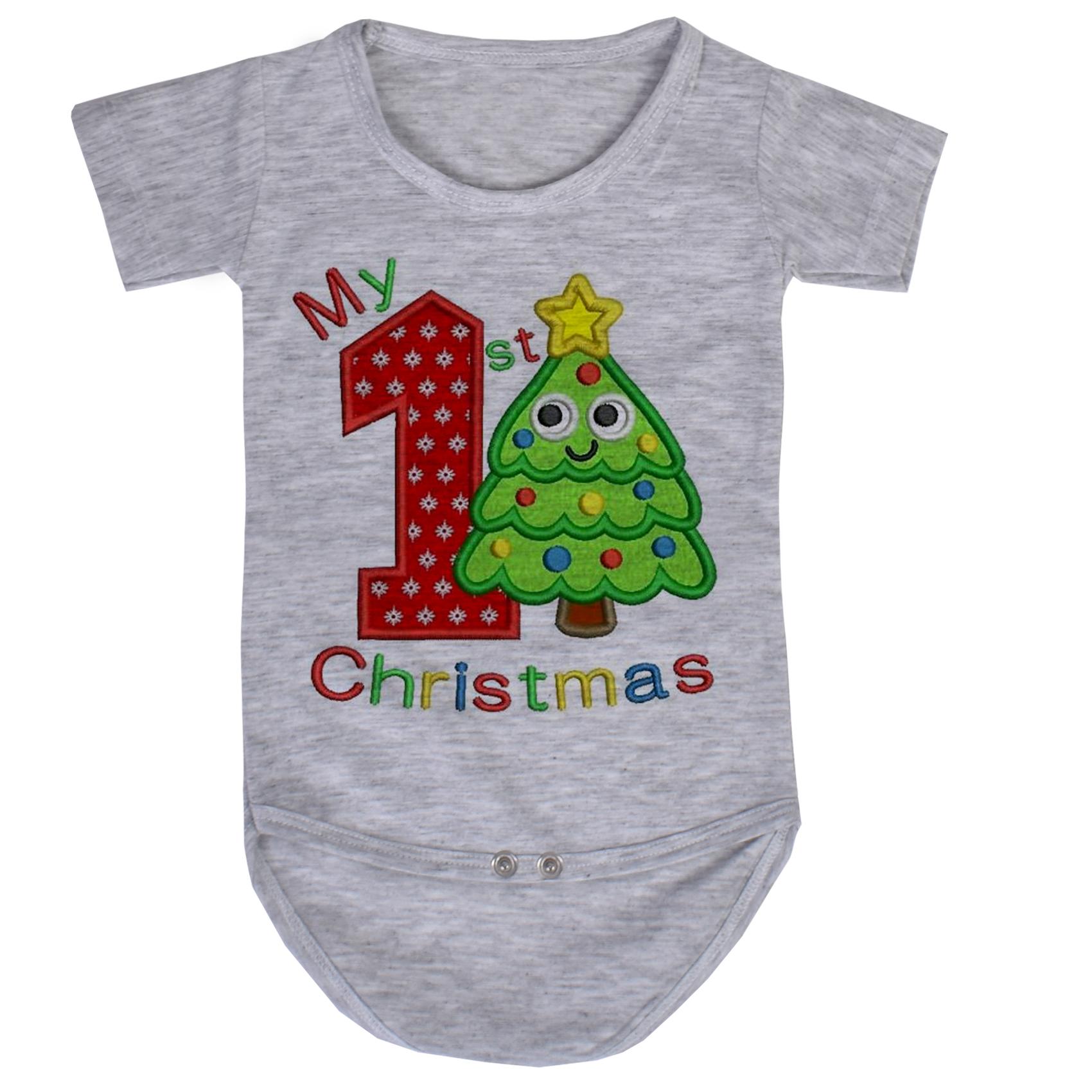بادی نوزاد طرح کریسمس کد AR47