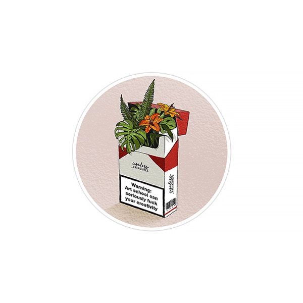 استیکر لپ تاپ ماسا دیزاین طرح سیگار  مدل STK292