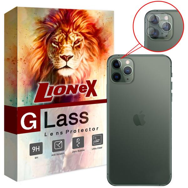 محافظ لنز دوربین لایونکس مدل UTFSL مناسب برای گوشی موبایل اپل iPhone 11 Pro Max