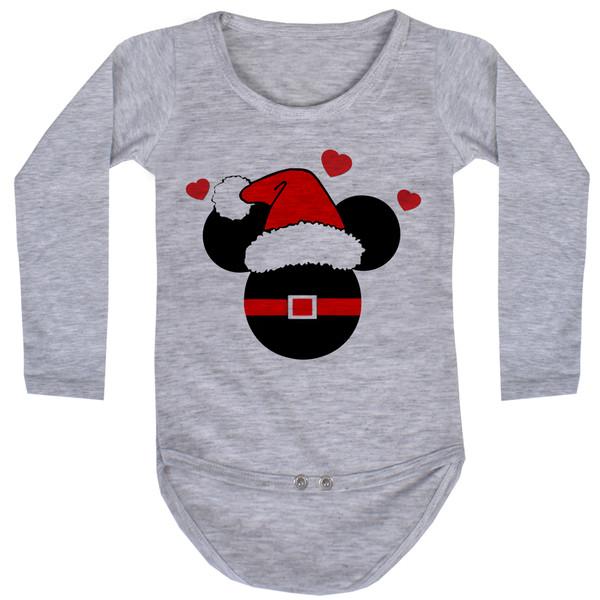 بادی آستین بلند نوزاد مدل کریسمس کد AR36