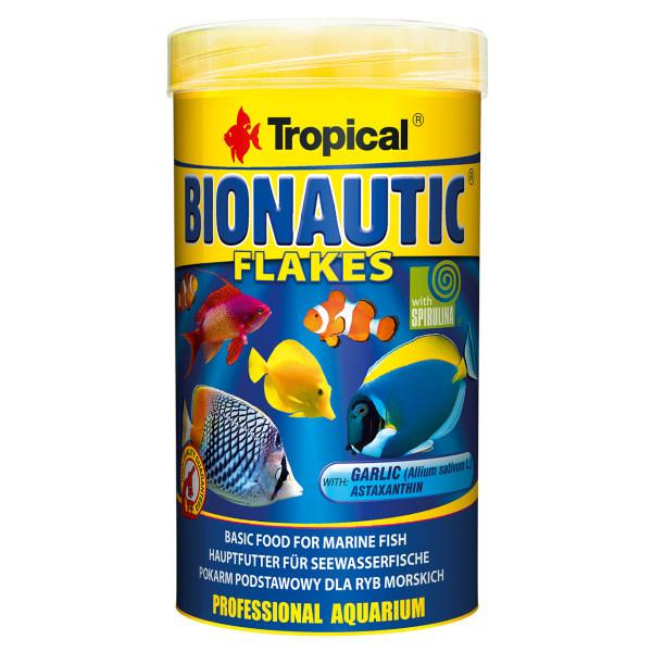 غذای ماهی تروپیکال مدل Bionautic Flakes وزن 50 گرم