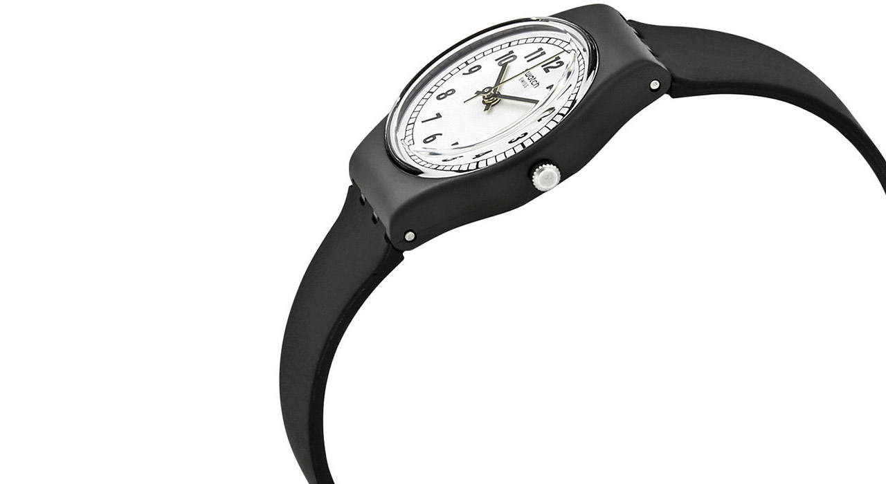 ساعت مچی عقربه ای زنانه سواچ مدل LB184 -  - 2