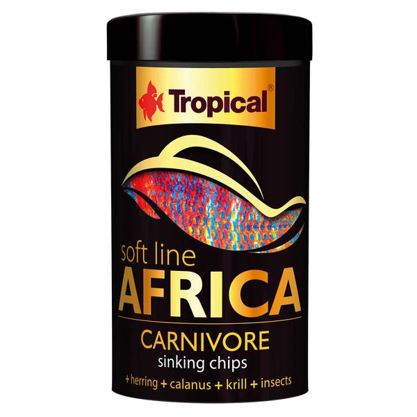 غذای ماهی تروپیکال مدل  SOFT LINE Africa Carnivor کد025 وزن 52 گرم