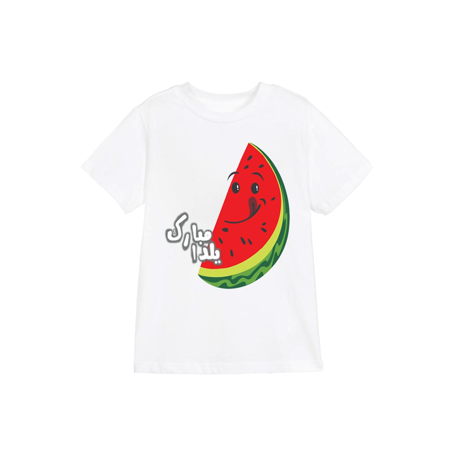 تی شرت طرح یلدا مدل 13 yalda