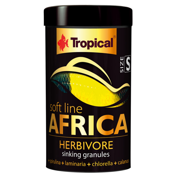 غذای ماهی تروپیکال مدل SOFT LINE Africa Herbivore کد024 وزن 52 گرم