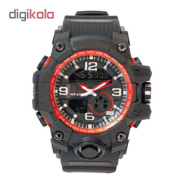 کد تخفیف                                      ساعت مچی دیجیتال مردانه مدل G-SH 3388 - ME-GHR
