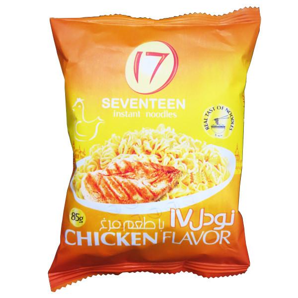 نودل با عصاره مرغ هفده مقدار 85 گرم