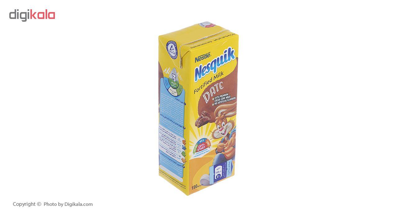 شیر خرما نسکوئیک نستله حجم 190 میلی لیتر
