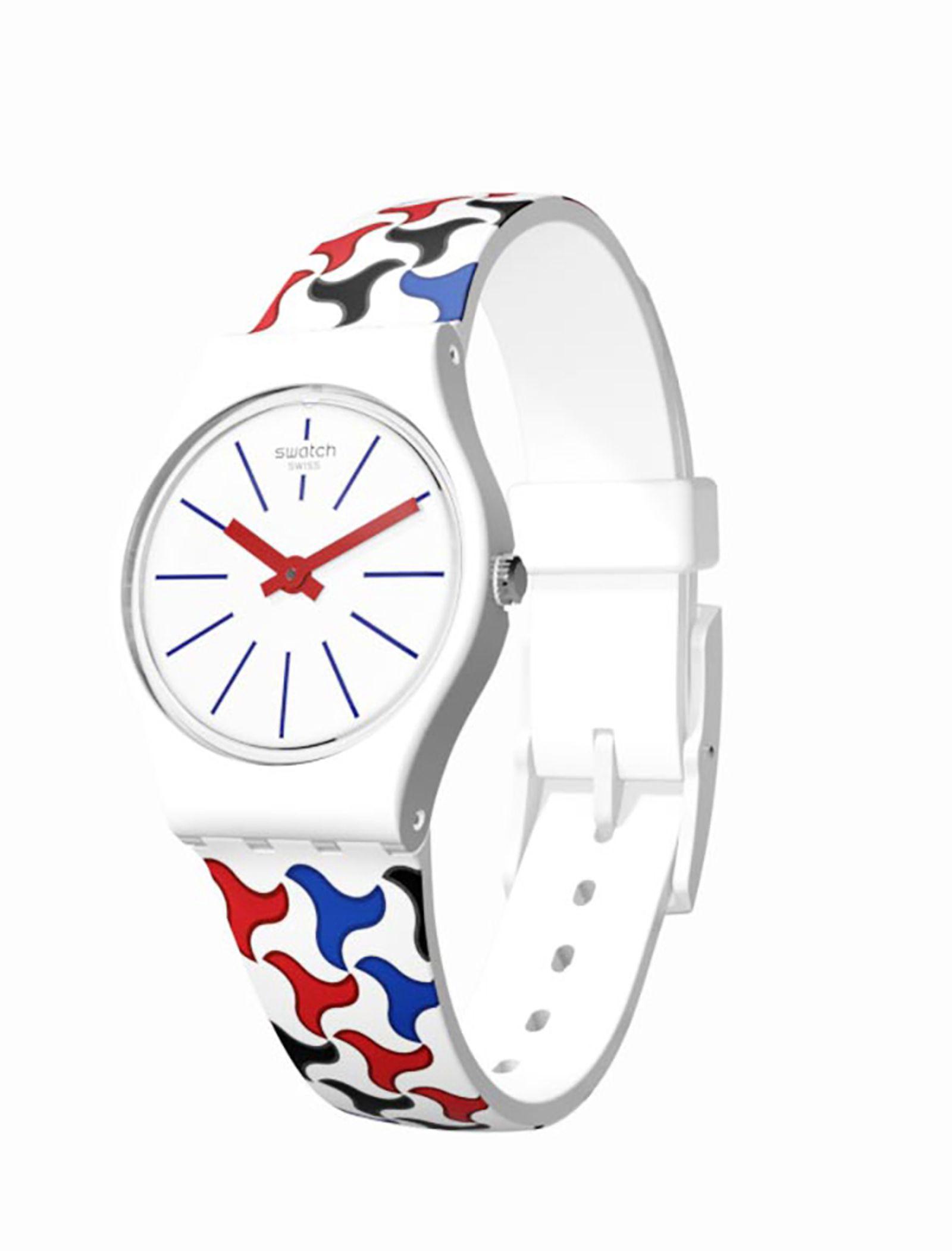 ساعت مچی عقربه ای زنانه سواچ مدل LW156 -  - 2