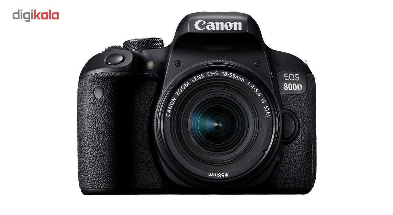 دوربین دیجیتال کانن مدل EOS 800D به همراه لنز 18-55 میلی متر IS STM main 1 1