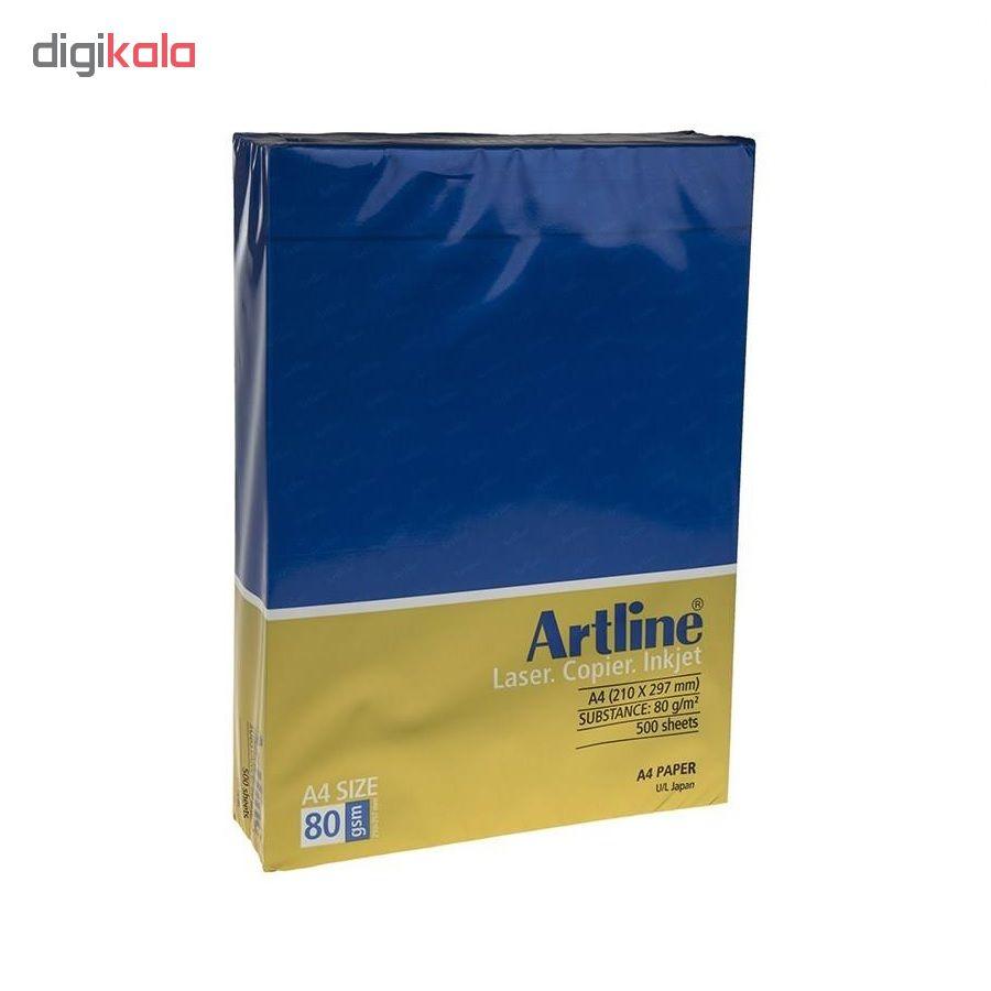 قیمت خرید کاغذ A4 آرت لاین کد 92 بسته 2500 عددی اورجینال