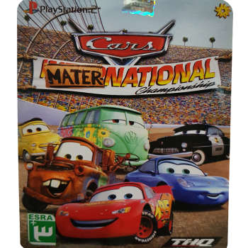 بازی Cars Mater National Championship مخصوص PS2 نشر لوح زرین