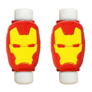 محافظ کابل طرح Iron Man کد 3313 بسته 2 عددی