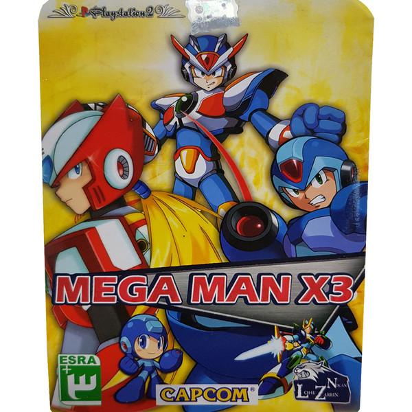 بازی Mega Man X3 مخصوص PS2 نشر لوح زرین