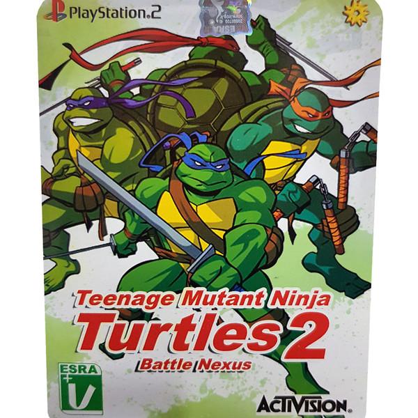 بازی Teenage Mutant Ninja Turtles 2 Battle Nexus مخصوص PS2 نشر لوح زرین