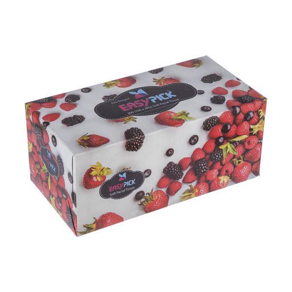 دستمال کاغذی 100 برگ ایزی پیک مدل Redfruit