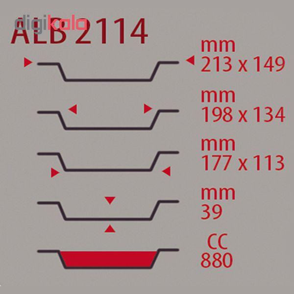 ظرف یکبار مصرف امیرکو مدل 2114  بسته 10 عددی