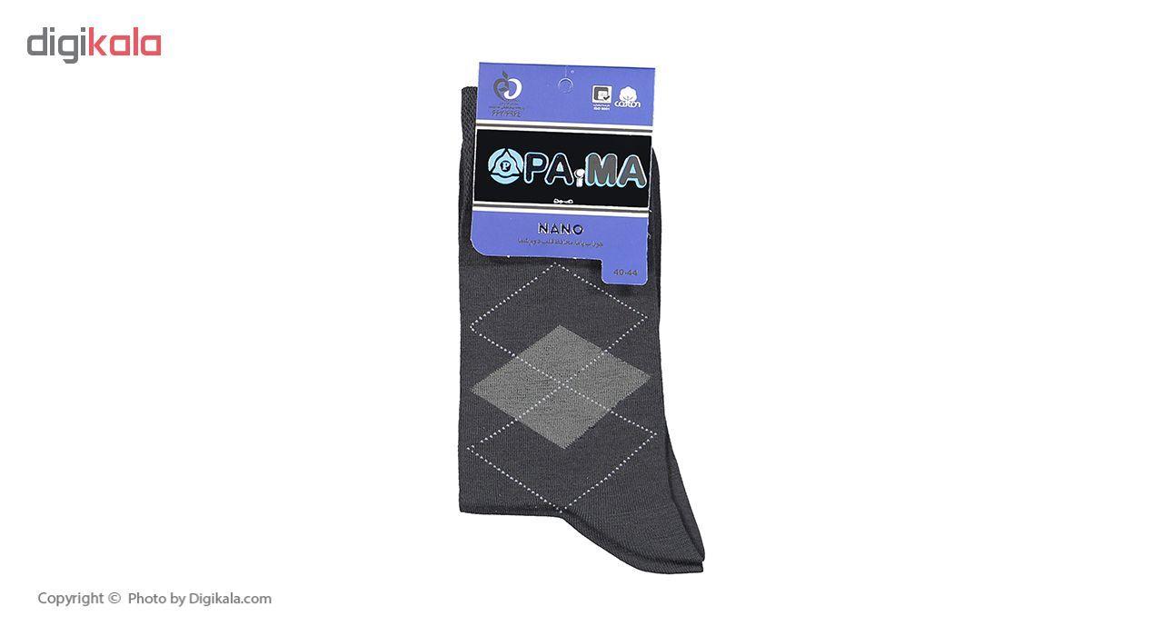 جوراب مردانه پاما کد 040-200 مجموعه 6 عددی main 1 4