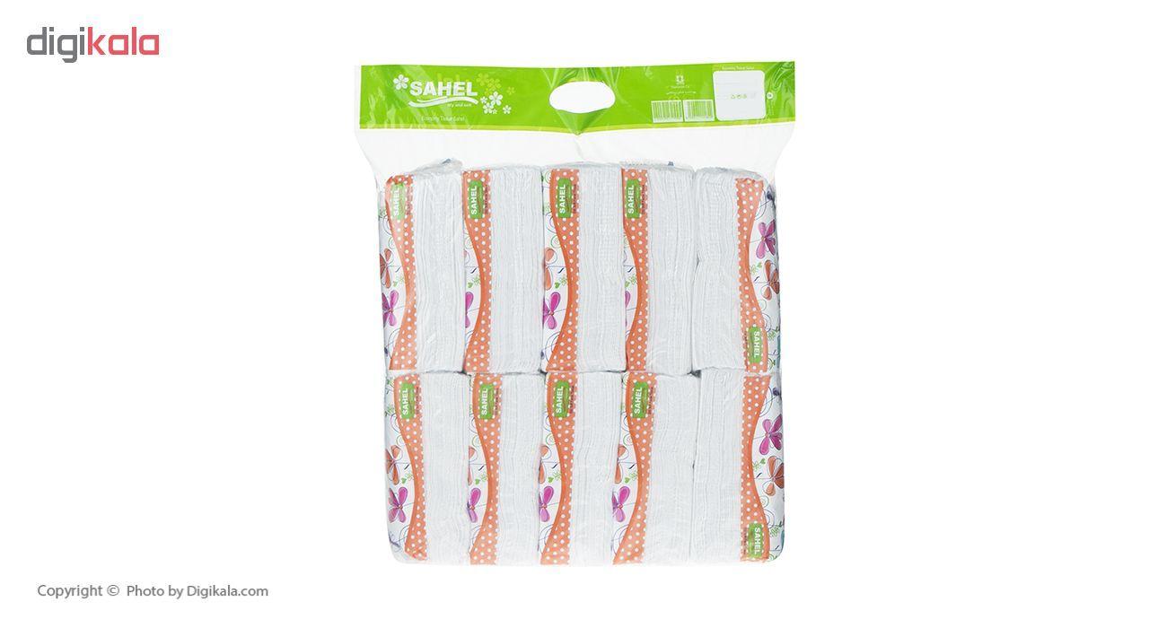 دستمال کاغذی 100 برگ ساحل مدل S3 بسته 10 عددی main 1 2