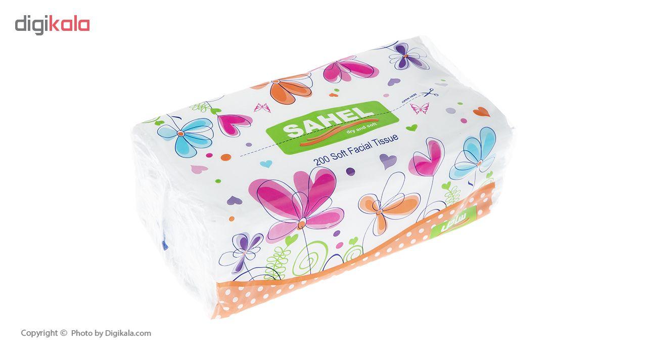 دستمال کاغذی 100 برگ ساحل مدل S3 بسته 10 عددی main 1 3