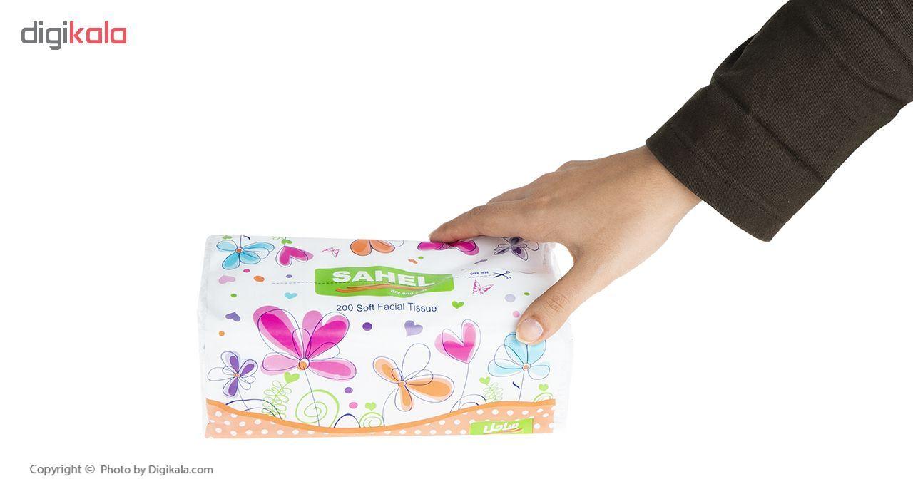 دستمال کاغذی 100 برگ ساحل مدل S3 بسته 10 عددی main 1 5