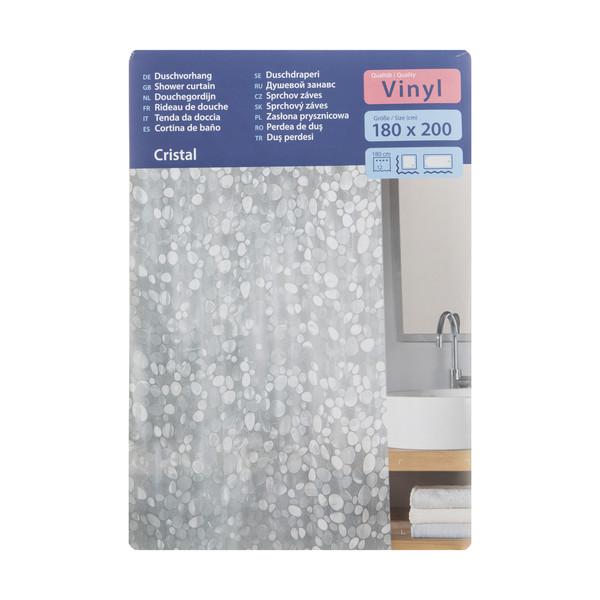 پرده حمام کلین ولک کد 5174116305 سایز 180 × 200 سانتی متر