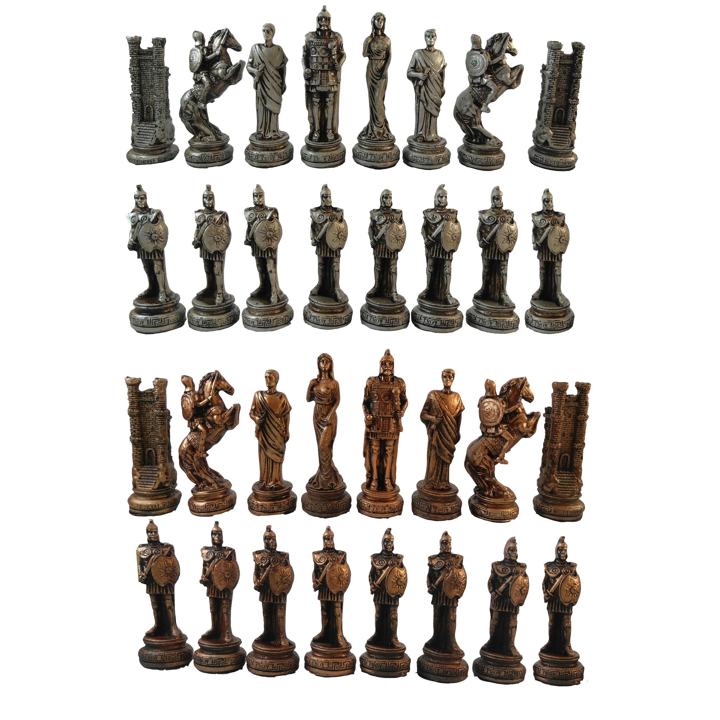 مهره شطرنج کد A3 مجموعه 32 عددی