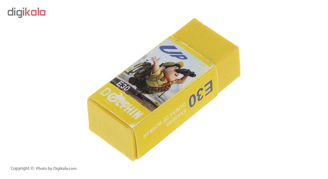 پاک کن دلفین مدل E30  بسته 10 عددی