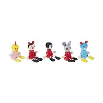 سر مدادی مدل عروسکی بسته 18 عددی