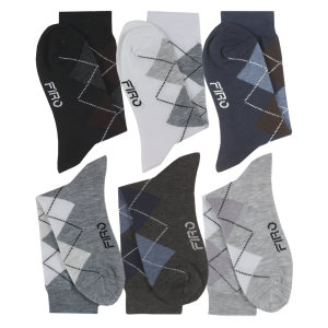 جوراب مردانه فیرو کد FT510 مجموعه 6 عددی
