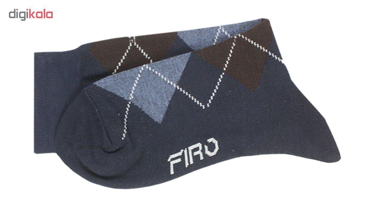 جوراب مردانه فیرو کد FT510 مجموعه 6 عددی main 1 7